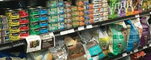dog food and cat food